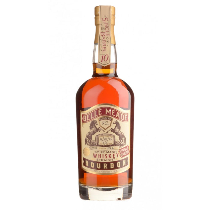 Belle Meade 10 Year Old Single Barrel Bourbon Whiskey