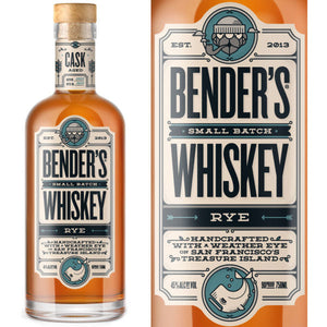Bender's Small Batch Rye Whiskey - CaskCartel.com