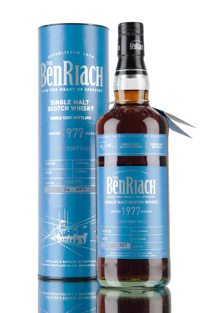 Benriach 1977 38 Years Old Batch 13 Cask #3111 Speyside Single Malt Scotch Whisky
