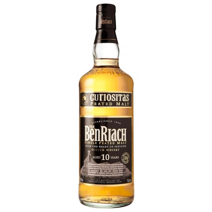 BenRiach Curiositas 10 Year Old Single Malt Scotch Whisky