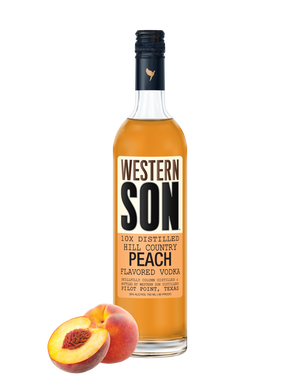 Western Son Peach Vodka - CaskCartel.com