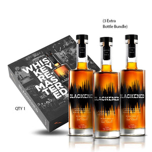 METALLICA | BOX SET | BLACKENED® AMERICAN WHISKEY | LIMITED EDITION BATCH 100 | **Collect One/Drink Three**
