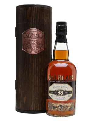 Balblair 1966 38 Year Old Spanish Oak Cask Highland Single Malt Scotch Whisky - CaskCartel.com