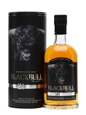 Duncan Taylor Black Bull 21 Year Old Blended Scotch Whisky - CaskCartel.com