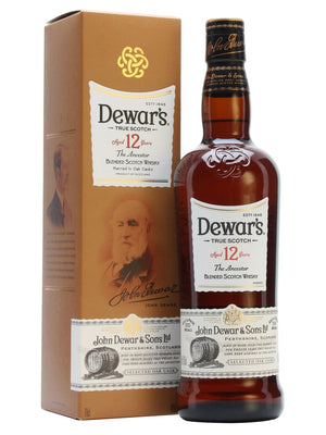 Dewar's 12 Year Old The Ancestor Double Aged Blended Scotch Whisky - CaskCartel.com