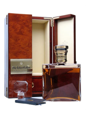 The John Walker Baccarat Crystal Decanter Blended Scotch Whisky | 700ML at CaskCartel.com