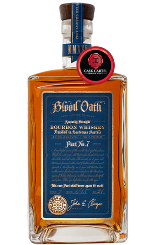 Blood Oath Pact 7 | 2021 One-Time Limited Release | Kentucky Straight Bourbon Whiskey at CaskCartel.com
