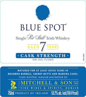 Blue Spot Single Pot Still Irish Whiskey at CaskCartel.com