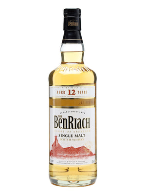 The BenRiach 12 Year Old Single Malt Scotch Whisky - CaskCartel.com
