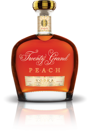Twenty Grand Peach Vodka Infused With Cognac - CaskCartel.com