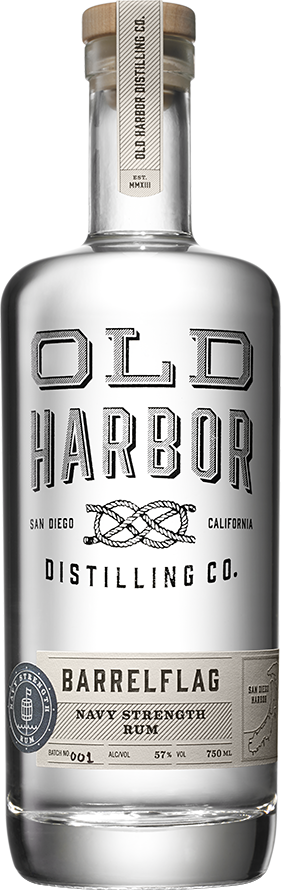 Old Harbor BarrelFlag Navy Strength Rum - CaskCartel.com