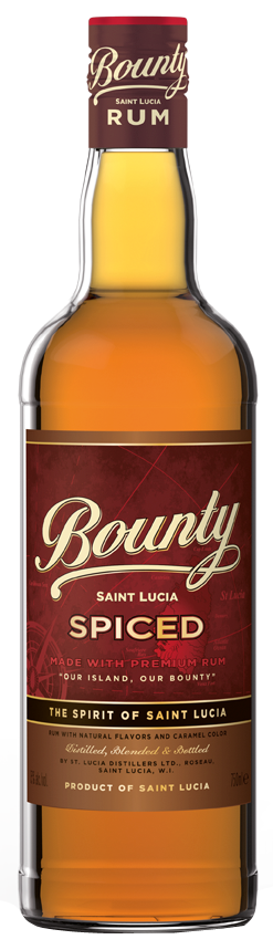 Bounty Spiced Saint Lucia Rum