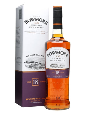 Bowmore 18 Year Old Single Malt Scotch Whisky - CaskCartel.com