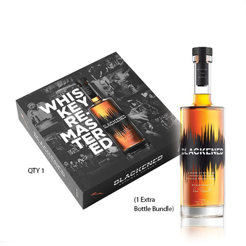 BLACKENED® AMERICAN WHISKEY | LIMITED EDITION BATCH 100 | BOX SET | **Collect One/Drink One**