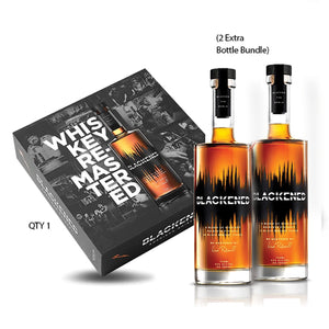 BLACKENED® AMERICAN WHISKEY | LIMITED EDITION BATCH 100 | BOX SET | **Collect One/Drink Two** at CaskCartel.com