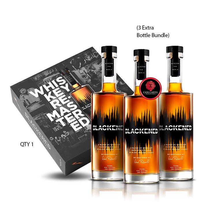 BLACKENED® AMERICAN WHISKEY | LIMITED EDITION BATCH 100 | BOX SET | **Collect One/Drink Three**