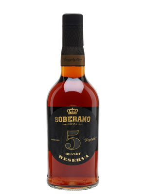 Soberano 5 Reserva Brandy | 700ML at CaskCartel.com