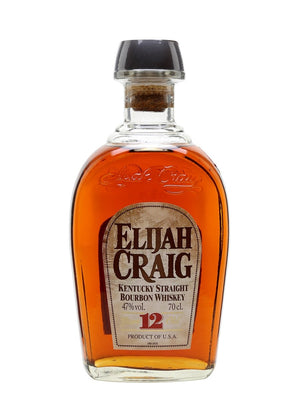 Elijah Craig 12 Year Old Small Batch Bourbon Whiskey - CaskCartel.com
