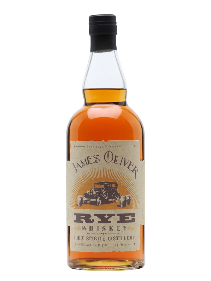 James Oliver Rye Bootlegger's Special Whiskey