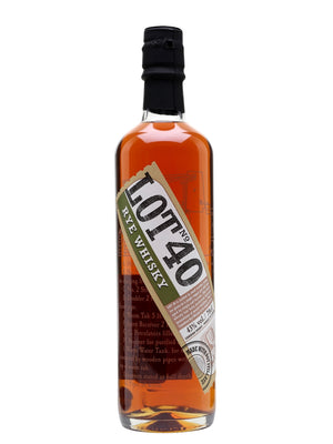 Lot 40 Canadian Rye Whisky | 700ML at CaskCartel.com