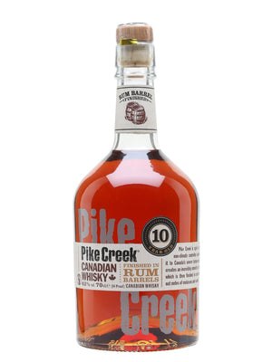Pike Creek 10 Year Old Rum Finish Canadian Whisky | 700ML at CaskCartel.com