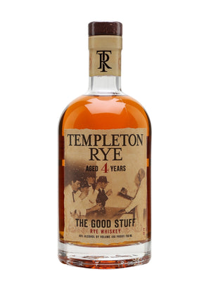 Templeton 4 Year Old Rye Whiskey - CaskCartel.com