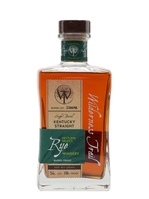 Wilderness Trail Barrel Proof Rye (56%) Kentucky Straight Rye Whiskey at CaskCartel.com