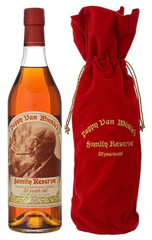 Pappy Van Winkle's 2015 Family Reserve 20 Year Old Bourbon Whiskey - CaskCartel.com
