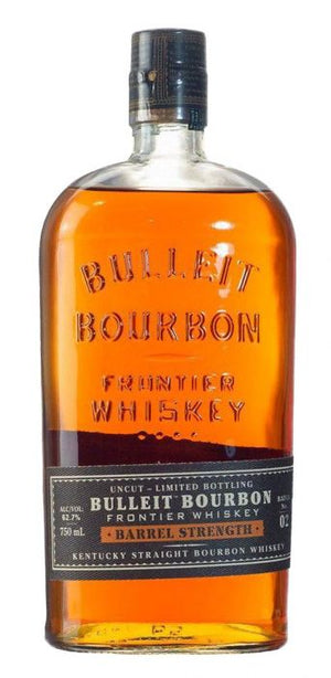 Bulleit Barrel Strength Bourbon Whiskey - CaskCartel.com