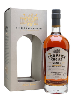 2001 The Cooper's Choice Bunnahabhain Sherry Cask Single Malt Scotch Whisky - CaskCartel.com
