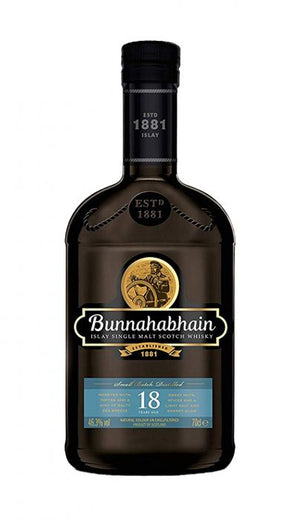 Bunnahabhain 18 Year Old Single Malt Scotch Whisky - CaskCartel.com