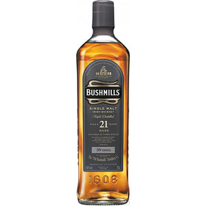Bushmills 21 Year Old Single Malt Irish Whiskey - CaskCartel.com