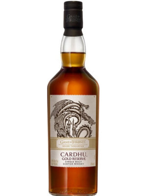 GAME OF THRONES | Cardhu Gold Reserve Game Of Thrones House Targaryen Limited Edition CaskCartel.com