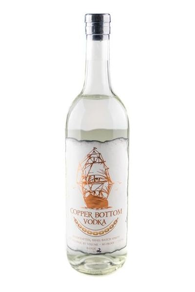 Copper Bottom Small Batch Vodka