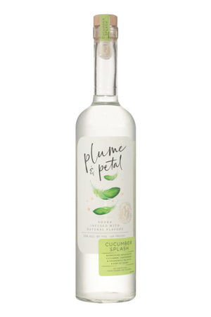 Plume & Petal Cucumber Splash Vodka at CaskCartel.com