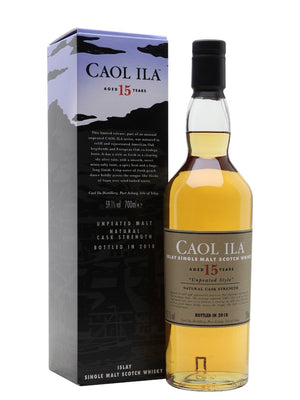 Caol Ila Unpeated 15 Year Old Special Release 2018 Single Malt Scotch Whisky - CaskCartel.com