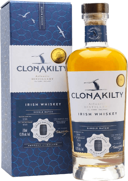 Clonakilty Single Batch Double Oak Finish Irish Whiskey