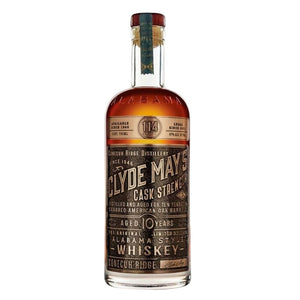Clyde May's 10 Year Old Cask Strength Alabama Style Whiskey - CaskCartel.com