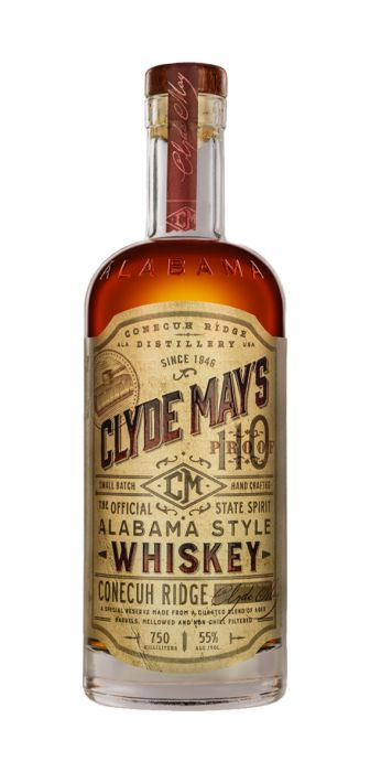Clyde May's Conecuh Ridge Alabama Style Special Reserve Whiskey