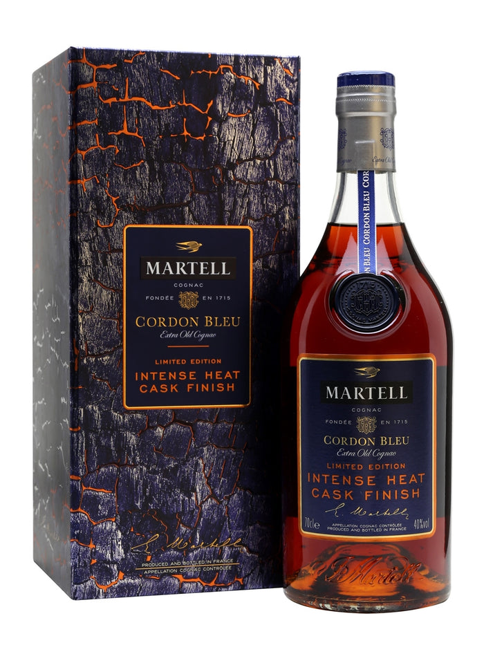 Martell Cordon Bleu Intense Heat Cask Finish Limited Edition Cognac