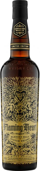 Compass Box Flaming Heart Limited Edition Blended Malt Scotch Whisky - CaskCartel.com