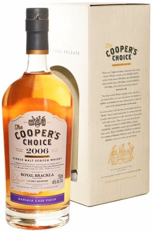2006 The Cooper's Choice Royal Brackla Marsala Cask Single Malt Scotch Whisky - CaskCartel.com
