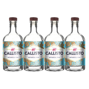 Callisto Californian Dry Botanical Rum (4) Bottle Bundle at CaskCartel.com