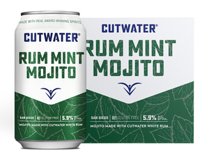 Cutwater Spirits Rum Mint Mojito Canned Cocktail at CaskCartel.com