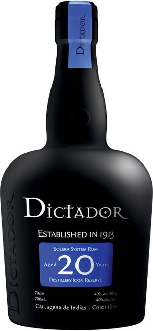 Dictador 20 Year Old Colombian Rum - CaskCartel.com