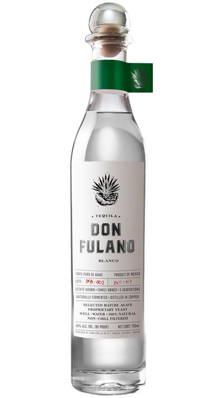 Don Fulano Silver 80 Proof Tequila