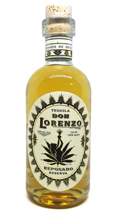Don Lorenzo Reposado (Paper Label) Tequila