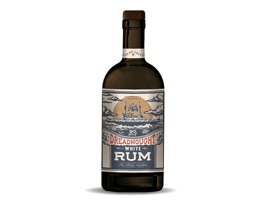 New Liberty Distillery Dreadnought White Rum