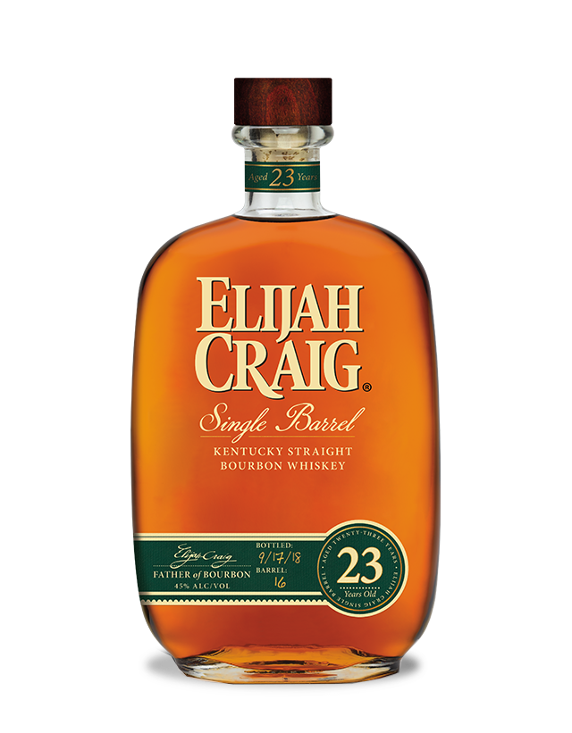 Elijah Craig 23 year Single Barrel Kentucky Straight Bourbon Whiskey