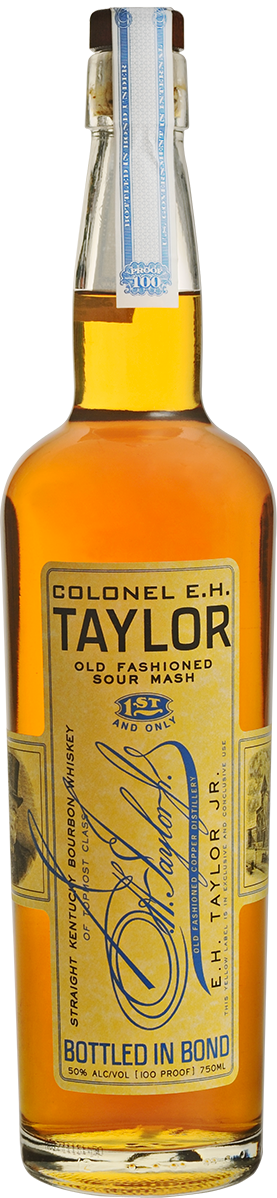 Colonel E.H. Taylor, Jr. Old Fashioned Sour Mash Bourbon Whiskey